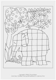 Elmer The Elephant Coloring Page Good Elmer Coloring Pages
