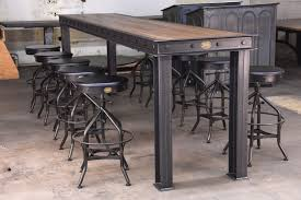 industrial restaurant furniture. Firehouse Bar Table Vintage Industrial Furniture Industrial Restaurant Furniture