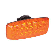 Battery Operated Amber Led Lights Custer Products Limited Hf24a Battery Powered Amber Led Warning Light