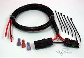 polaris ranger rzr radiator fan bypass harness electrical connection polaris ranger rzr radiator bypass harness
