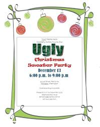 Christmas Invitation Template Classy Free Ugly Sweater Party Invitations Real Sweaters Christmas