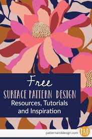 Textile Design Tutorial Learn To Create Surface Pattern Designs Pattern Design