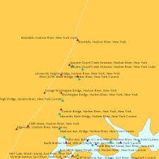Winthrop Tide Chart West 207th Street Bridge Harlem River New York Current
