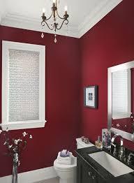 bathroom paint. red bathroom paint color