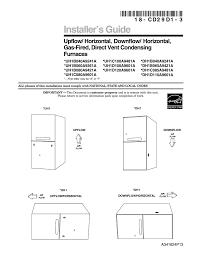 Trane Xr95 Pilot Light Trane Xr95 Installation Manual Manualzz Com