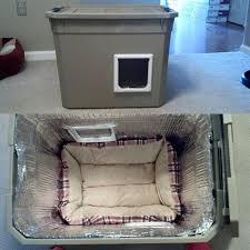 abccfcd diy cat shelter outdoor outdoor cat bed