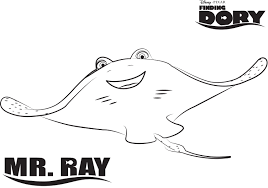 Small Picture Manta Ray Coloring Pages Printable Images Kids Aim