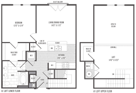 Apartment Springfield MO  The AbbeyApartments Floor Plans 2 Bedrooms