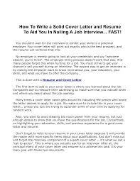 Tips For Cover Letters Writing Letter You Who Are Confused About How