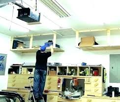 diy garage shelves plans garage storage loft large garage storage loft plans build wood shelves plans