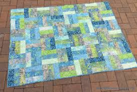 Quilting Designs For A Rail Fence Quilt Rail Fence Quilt Pattern Fabadashery Longarm Quilting