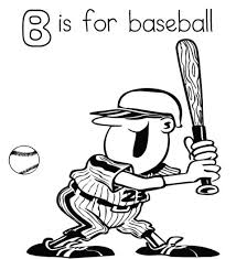 Coloring Pages Printable Baseball Player | Sport Coloring pages of ...