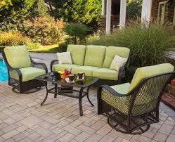 Orleans 4 Piece Sofa Set with Cushions