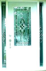 stain glass door inserts doors leaded front stained custom
