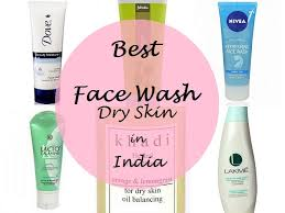 10 best face wash for dry skin in india