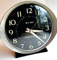 vintage westclox baby ben alarm clock 25vintage big chime
