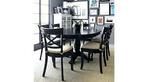 black round dining table black dark wood dining table ikea