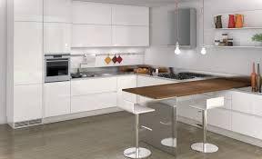 Modern White Kitchen Design Kitchen Extraordinary Modern White Kitchen Decoration Using