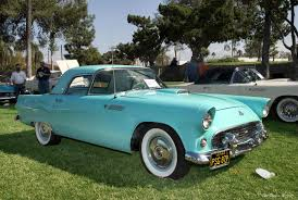 File:1955 T-Bird, aqua.jpg - Wikimedia Commons