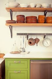 For Shelves In Kitchen Rustic Kitchen Open Shelvingjpg