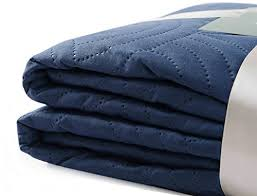 BOURINA Reversible Bed Quilt Bedspread and Coverlet 90? x 90 ... & BOURINA Reversible Bed Quilt Bedspread ... Adamdwight.com
