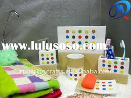 colorful bathroom accessories. Lovely Colorful Bathroom Accessories With Sets Holiday Design E