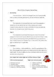 Contrasting Essay Comparing Contrasting Essay Sample Lac Tremblant Nord Qc Ca