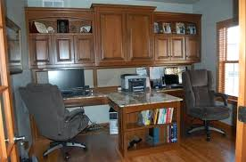 Home office cabinets Custom Builtin Successfullyrawcom Builtin Office Furniture Custom Built Home Office Furniture Cabinets