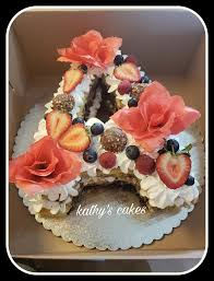 Kathys Cakes Letter A Birthday Cake Facebook
