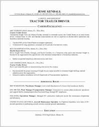 Cdl Driver Resume Samples Nice Truck Driver Sample Resume 24 Resume Ideas 1