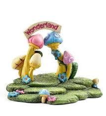 details about miniature dollhouse fairy garden alice in wonderland backdrop display platform