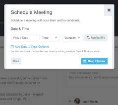 to select the relevant open blocks of time available right from the calendar view and we ll add them to the invite