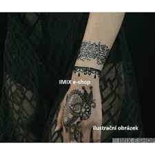 Tetování černá Henna A Krajka č14 Imix Shopcz