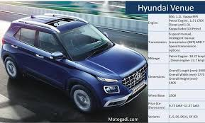 The 2021 hyundai venue is a subcompact crossover that has surprising interior space and desirable features at an affordable price. Hyundai Venue Price Specification Features And Images Hyundai Venue Hyundai New Hyundai