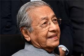 Image result for 首相兼土团党主席敦马哈迪 马来人的保护者。