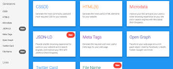 Web code tools – CSS3, HTML5, Microdate, Open-Graph, JSON und vieles ...