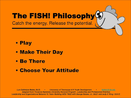 Chart House Fish Philosophy Ppt The Fish Philosophy Powerpoint Presentation Free