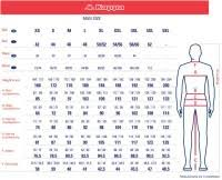 Kappa Size Chart Rugby Shirt Size Chart Ellis Rugby