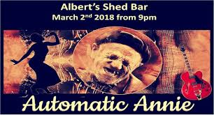 Automatic Annie - Playing on 27th April - Alberts Shed Bar | Facebook