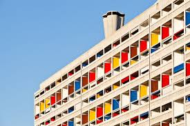 Unité Dhabitation Marseille France Built 1946 1952 Designed
