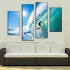 Wall Art Sets For Living Room Online Get Cheap Surfing Wall Art Aliexpresscom Alibaba Group