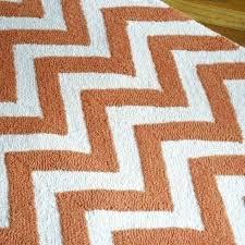 tangerine orange chevron rug orange chevron rug orange and white chevron rug