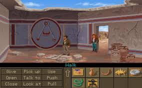 Indiana Jones and the Fate of Atlantis game pc-ის სურათის შედეგი