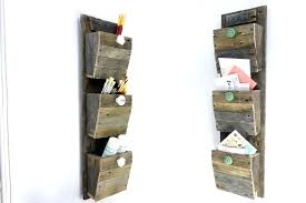 wall mounted home office. Home Decor Wall Mail Organizer Storage Cork Board Office With Regard Creative Furniture Design Rustic Hardwood Throughout Mounted