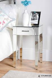 beautiful mirrored nightstand to complete your home furniture decorating mirrored nightstands small bedside table for