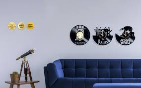 choose from hundreds of ourcustom vinyl wall clocks now