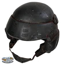 custom made combat helmet from starship troopers