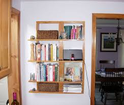 Kitchen Wall Shelving Diy Kitchen Wall Shelves Designs