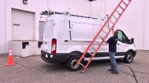 Prime Design Van Ladder Prime Design S Ergorack The Drop Down Ladder Rack For The Ford Transit