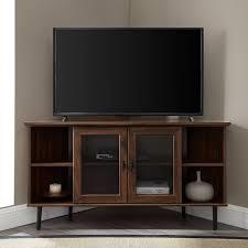 Corner <b>Tv Cabinet With</b> Doors   Wayfair